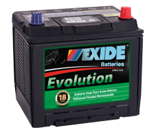 Evolution Start/Stop Batteries
